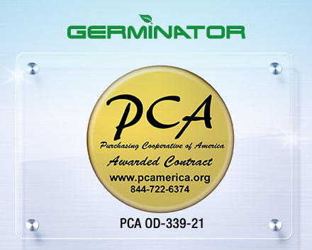 PCA Logo with Germinator Contract Number